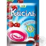 Кисель Эко со вкусом вишни 90г Украина