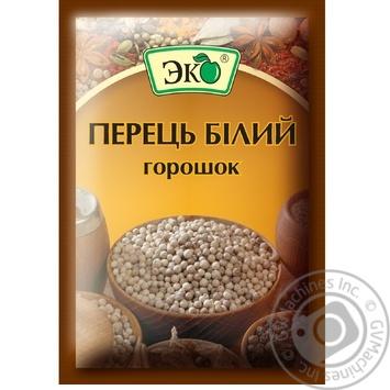 Перец Эко белый горошек 20г - купить, цены на Novus - фото 1