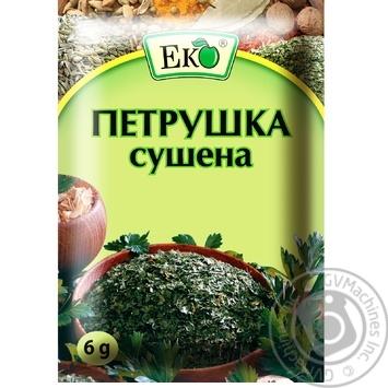 Петрушка Эко сушеная 6г - купить, цены на Novus - фото 1