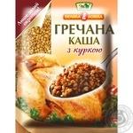 Каша гречневая Эко Вэлыка Ложка с курицей быстрого приготовления 38г
