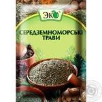 Приправа Эко Средиземноморские травы 10г - купить, цены на Novus - фото 1