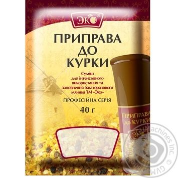 Eco Spice for Chicken 40g - buy, prices for Novus - image 1