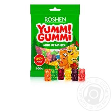 Roshen Yummi Gummi Mini Bear mix jelly candy 100g - buy, prices for Novus - image 1