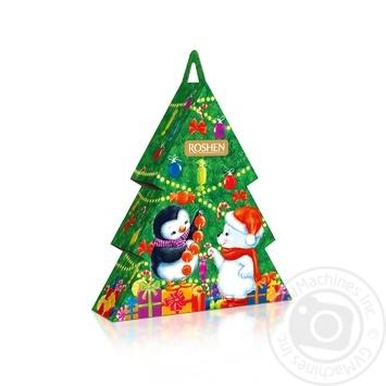 Новогодний подарок Рошен №7 Новогодняя Елка 444г - купить, цены на Novus - фото 1