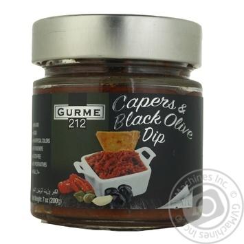 Соус Gurme 212 каперс и черные оливки 200г - купить, цены на Метро - фото 1