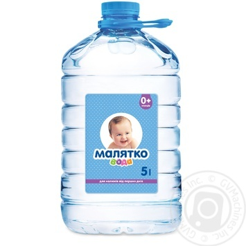 Still natural mineral water Malyatko for babies from birth 5l - buy, prices for Furshet - image 1
