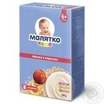 Каша Малятко молочна вівсяна з персиком 200г