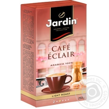 Кава Jardin Cafe Eclair мелена 250г - купити, ціни на Ашан - фото 2