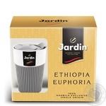 Кофе молотый Jardin Euphopia 250г + термочашка