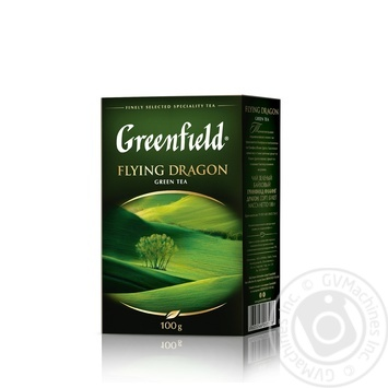 Greenfield Flying Dragon green tea 100g - buy, prices for MegaMarket - image 2