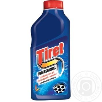 Средство жидкий Tiret для чистки канализационных труб 500мл - купить, цены на Фуршет - фото 2