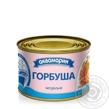 Горбуша Аквамарин натуральна 230г - купити, ціни на Novus - фото 1