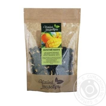 Чай зеленый Чайные шедевры Золотой манго - купить, цены на Ашан - фото 1