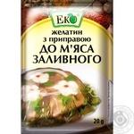 Желатин с приправой Эко для мяса заливного 20г