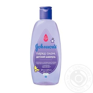 Johnson`s Baby Before Bedtime Baby Hair Shampoo 300ml - buy, prices for Novus - image 1