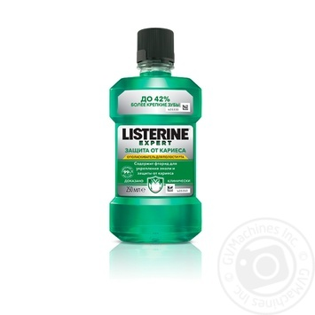 Listerine Expert Caries Protection Oral Rinse Aid 250ml - buy, prices for Auchan - photo 1