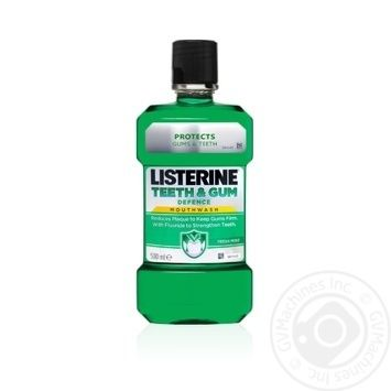 Listerine Expert Teeth And Gum Mouthwash 500l - buy, prices for Novus - image 1