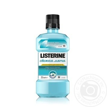 Listerine Mint Mouthwash 250ml - buy, prices for Novus - image 1