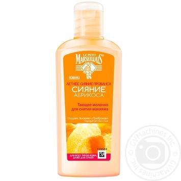 Молочко для снятия макияжа Le Petit Marseillais Сияние абрикоса 200мл - купить, цены на Novus - фото 1
