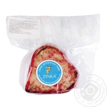 Сыр Zinka Сердечко красное из козьего молока полутвердый 45%
