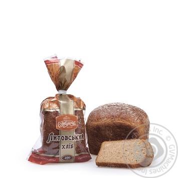 Хліб Рум'янець Литовський нарізаний 400г - купити, ціни на Ашан - фото 1