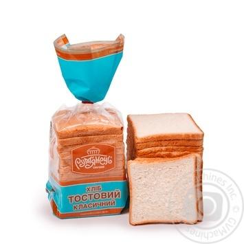 Хлеб Румянец тостовый классический 350г - купить, цены на Ашан - фото 1