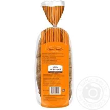Батон КиевХлеб Киевский нарезанный  500г - купить, цены на Ашан - фото 4