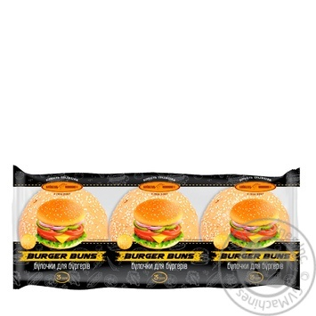 Kyyivkhlib Buns for burgers 180g - buy, prices for Furshet - image 1