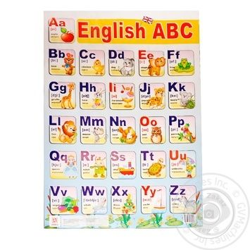 Азбука English ABC