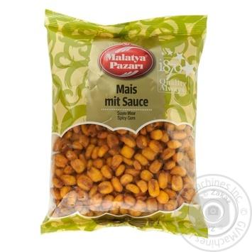 Кукуруза Malatya Pazari в остром соусе 250г - купить, цены на Ашан - фото 1
