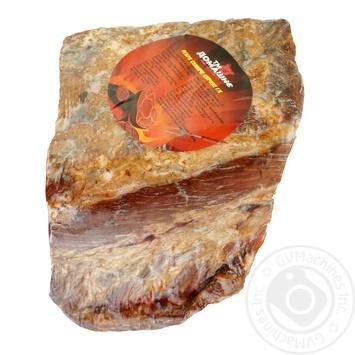 Ребро свиняче Домашнє на дровах копчене - купити, ціни на Ашан - фото 1