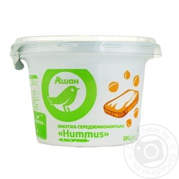 Хумус Ашан закуска классическая 180г