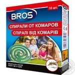 Spirals Bros to mosquitoes 10pcs