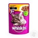 Корм Whiskas для кошек с курицей в соусе 100г