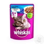 Whiskas With Tuna Fish In Jelly For Cats Food - buy, prices for Furshet - image 1