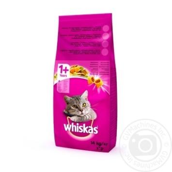 Корм Whiskas с говядиной для кошек 14кг - купить, цены на Novus - фото 6