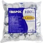 Свічка Bispol 100шт 4,5год - купити, ціни на МегаМаркет - фото 1