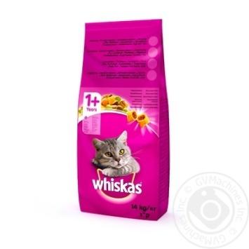 Корм Whiskas с говядиной для кошек 14кг - купить, цены на Novus - фото 7