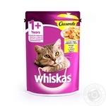 Корм для кошек Whiskas с курицей в желе 85г