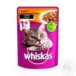 Корм Whiskas для кошек домашняя птица в соусе 100г