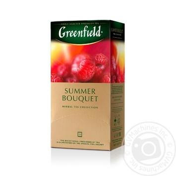 Чай трав'яний Summer Bouquet Greenfield пакетований 50г - купити, ціни на Novus - фото 2