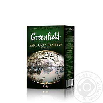 Чай чорний Greenfield Earl Grey Fantasy с бергамотом 100г - купити, ціни на Novus - фото 3