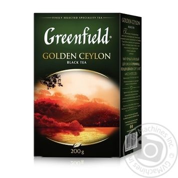 Black tea Greenfield Golden Ceylon 200g Ukraine - buy, prices for Novus - image 2