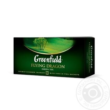 Чай зеленый Greenfield Flying Dragon 25шт 2г - купить, цены на Novus - фото 2