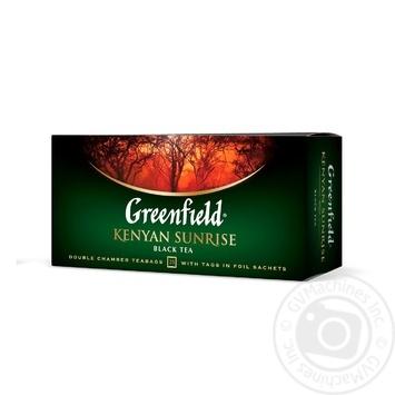 Greenfield Kenyen Sunrise Black Tea - buy, prices for Novus - image 3