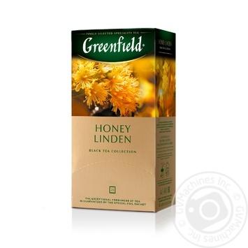 Чай Greenfield черный Honey Linden 25шт*1.5г - купить, цены на Метро - фото 2