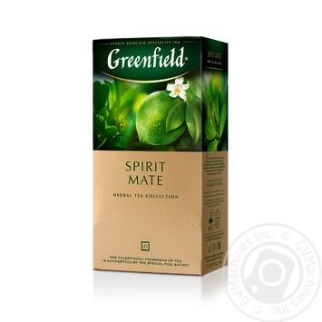 Чай трав'яний Greenfield Spirit Mate 25*1,5г - купити, ціни на Метро - фото 2
