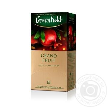 Greenfield Grand Fruit black tea 25pcs*1.5g - buy, prices for Metro - image 2