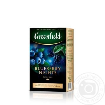 Greenfield Blueberry Nights Black Tea 100g - buy, prices for MegaMarket - image 1