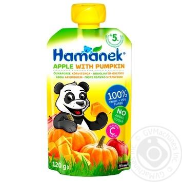 Puree Hamanek for children 120g - buy, prices for Furshet - image 1